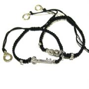Shades of Grey Shamballa Bracelets